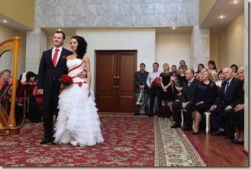 Регистрация во Дворце Бракосочетания 4