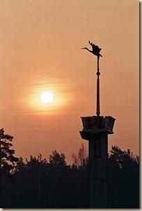 Символ города - журавль